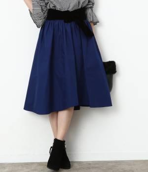 ViS - ビス | 起毛フィッシュテールギャザースカート