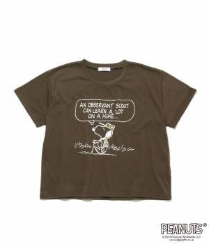 Adam et Ropé Le Magasin - アダム エ ロペ ル マガザン | 【数量限定!LUCKY PRICE】【PEANUTS × Le Magasin】SNOOPY Tシャツ