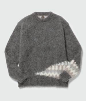 ADAM ET ROPÉ HOMME - アダム エ ロペ オム   【予約】【BATONER  for ADAM ET ROPE'】※Exclusive mohair knit pullover
