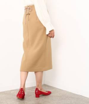 ROPÉ mademoiselle - ロペ マドモアゼル | 【ROPE' TIME SALE】ダブルクロスミモレタイトスカート