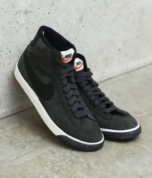 NERGY - ナージー   【Nike】blazer MID VNTG suede shoes