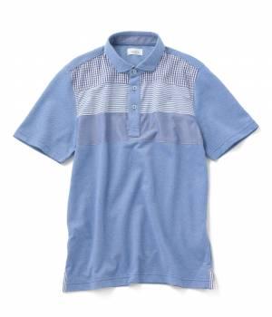 JUNRed - ジュンレッド | パネル切替ポロシャツ