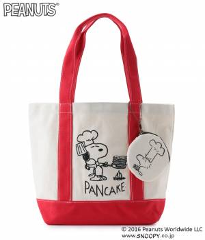 Adam et Ropé Le Magasin - アダム エ ロペ ル マガザン | 【PEANUTS × Le Magasin】SNOOPYキャンバストートバッグ