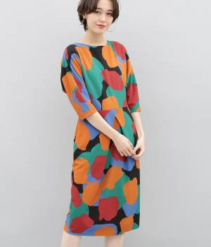 ADAM ET ROPÉ FEMME - アダム エ ロペ ファム   【Samuji for ADAM ET ROPE'】GINA Dress