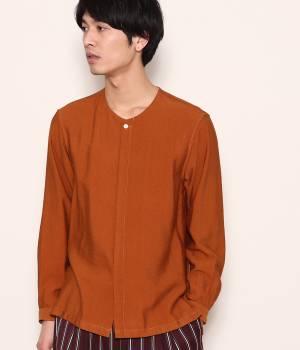 JUNRed - ジュンレッド | ソフトドレープノーカラーシャツ