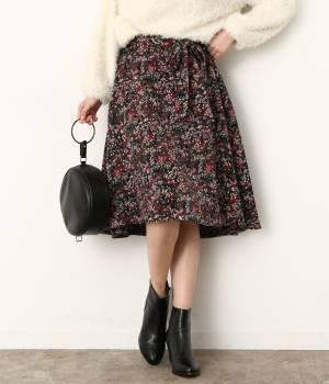 ViS - ビス | 小花柄フィッシュテールスカート