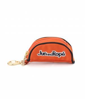 Jun and Ropé - ジュン アンド ロペ | 配色半円型ボールポーチ