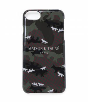MAISON KITSUNÉ PARIS WOMEN - メゾン キツネ ウィメン | 【先行予約】IPHONE CASE ALL-OVER CAMO FOX