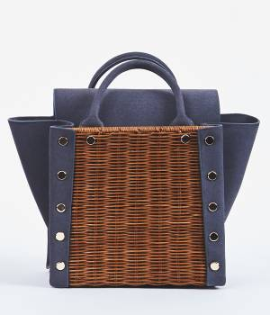 ViS - ビス   【先行予約】【LAUGOA】MELLEカゴハンドバッグ