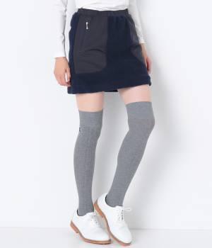 JUN&ROPÉ - ジュン アンド ロペ | 【Regina冬号掲載】ボア×タフタ切替スカート