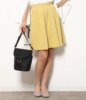 ViS - ビス   サイドジップタックフレアスカート