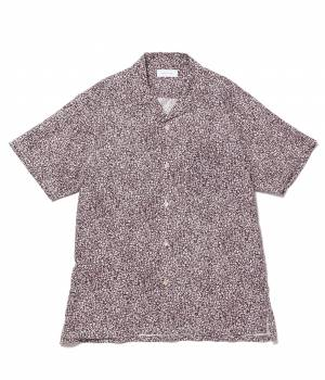 ADAM ET ROPÉ HOMME - アダム エ ロペ オム | マーブルプリントオープンカラーシャツ