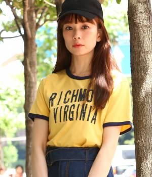ViS - ビス   【WEB限定カラー】リンガープリントTシャツ