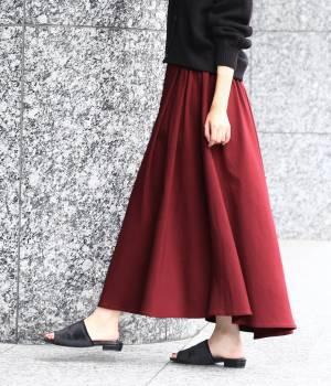 ViS - ビス   【WEB限定】チノボリュームスカート
