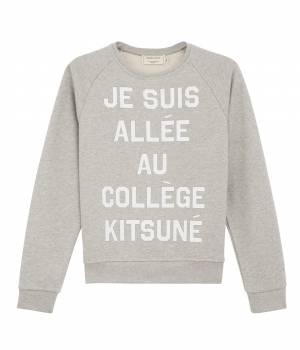 MAISON KITSUNÉ PARIS WOMEN - メゾン キツネ ウィメン | Sweat JE SUIS ALLEE