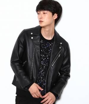 JUNRed - ジュンレッド | 【FINEBOYS 11月号掲載】ダブルレザーライダース