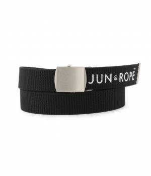 JUN&ROPÉ - ジュン アンド ロペ   ロゴ刺繍入りベルト