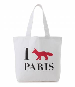 MAISON KITSUNÉ PARIS WOMEN - メゾン キツネ ウィメン | TOTE BAG I FOX PARIS
