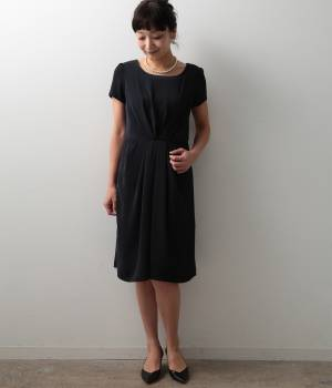 LE JUN WOMEN - ル ジュン  ウィメン   ベネシャンタックドレス