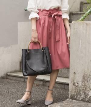 ViS - ビス   【2WAY】リバーシブルカラースカート