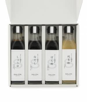 SALON adam et ropé HOME - サロン アダム エ ロペ ホーム | 【浅沼醤油 for SALON】サロンの調味料   基本セット