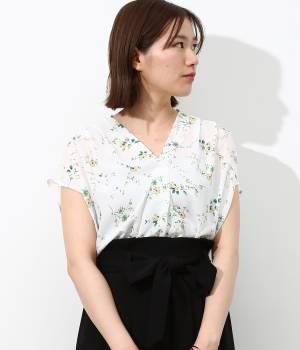 ViS - ビス   フラワープリントスキッパーシャツ
