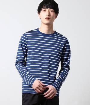 LE JUN MEN - ル ジュン メン | ボーダーポケTシャツ