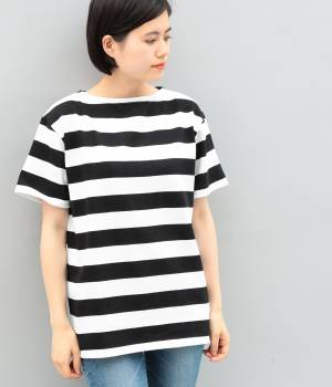 ADAM ET ROPÉ FEMME - アダム エ ロペ ファム | 【SAINT JAMES】WIDEBORDER Short sleeve