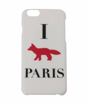 MAISON KITSUNÉ PARIS WOMEN - メゾン キツネ ウィメン | IPHONE CASE I FOX PARIS