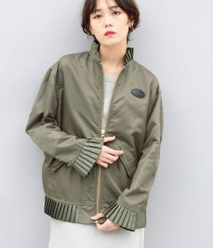 ADAM ET ROPÉ FEMME - アダム エ ロペ ファム | 【MM6】Bomber jacket Puriteddo detail