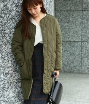 ViS - ビス   【先行予約】キルティングパッチポケットコート