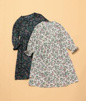 ROPÉ PICNIC KIDS - ロペピクニック キッズ | 【ROPE' PICNIC KIDS】【MULHOUSE】花柄ワンピース