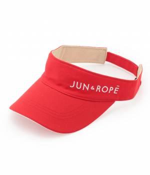 JUN&ROPÉ - ジュン アンド ロペ | ツイルロゴ入りサンバイザー