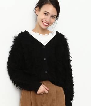 ViS - ビス | 【2WAY】フリンジ編みカーディガン