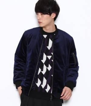 JUNRed - ジュンレッド   【FINEBOYS 1月号掲載商品】ベロアビッグMA-1