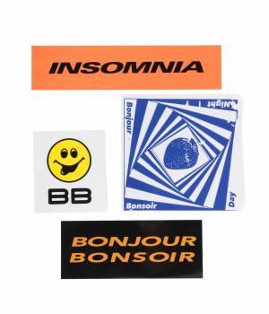 bonjour records - ボンジュールレコード | 【bonjour bonsoir】STICKER