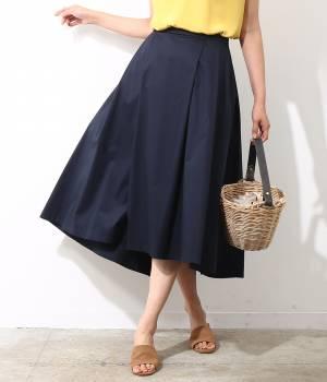 ROPÉ - ロペ | 【Oggi6月号掲載】【トールサイズ】サイドタックロングスカート