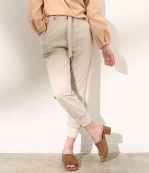 SALON adam et ropé WOMEN - サロン アダム エ ロペ ウィメン | 裾リブパンツ