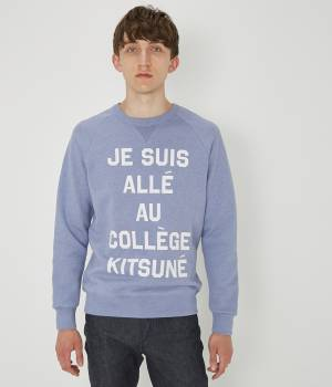 MAISON KITSUNÉ PARIS MEN - メゾン キツネ メン | Sweat JE SUIS ALLE