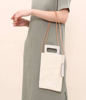 SALON adam et ropé WOMEN - サロン アダム エ ロペ ウィメン | 【別注】【MANUFACTURED BY SAILOR'S】2WAY SILVER MINIBAG