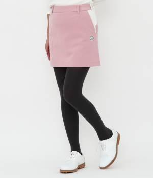 JUN&ROPÉ - ジュン アンド ロペ | 【保温機能】ミラノリブ裏毛配色コンビスカート