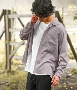 JUNRed - ジュンレッド | 【先行予約】ドレープオープンカラーシャツ