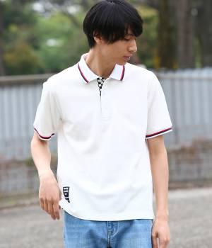 JUN SELECT - ジュンセレクト   【Ready Steady GO!÷JUNRed】ポロシャツ