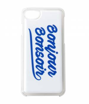 bonjour bonsoir - ボンジュールボンソワール | 【今だけ!J'aDoRe限定10%OFF】【bonjour bonsoir】iPhone7 CASE SMOOTH LOGO