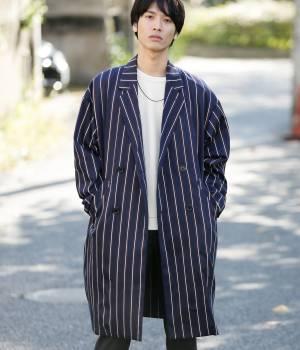 JUNRed - ジュンレッド   【予約】レジメンタルダブルマキシコート
