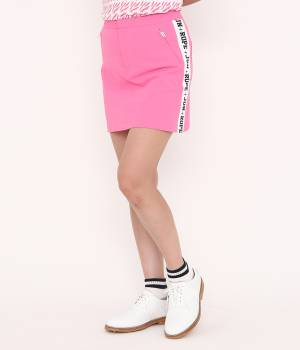 JUN&ROPÉ - ジュン アンド ロペ | 【吸水速乾】ロゴプリントスカート