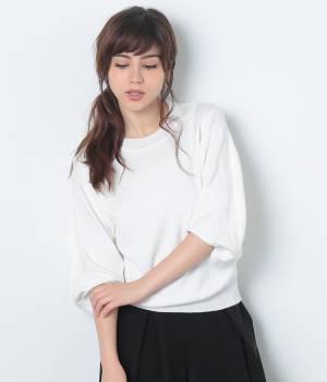ViS - ビス | ★10/14ヒルナンデス!放映★袖ねじれニットプルオーバー