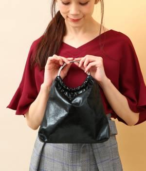 ViS - ビス   【先行予約】【WEB限定】【CASSELINI】メタリックリングハンドルバッグ
