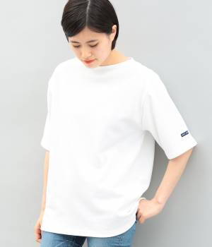 ADAM ET ROPÉ FEMME - アダム エ ロペ ファム | 【SAINT JAMES】OUESSANT Short Sleeve