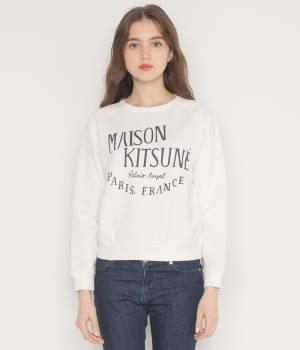 MAISON KITSUNÉ PARIS WOMEN - メゾン キツネ ウィメン | 【2017SS先行予約】PERM SWEAT SHIRT PALAIS ROYAL